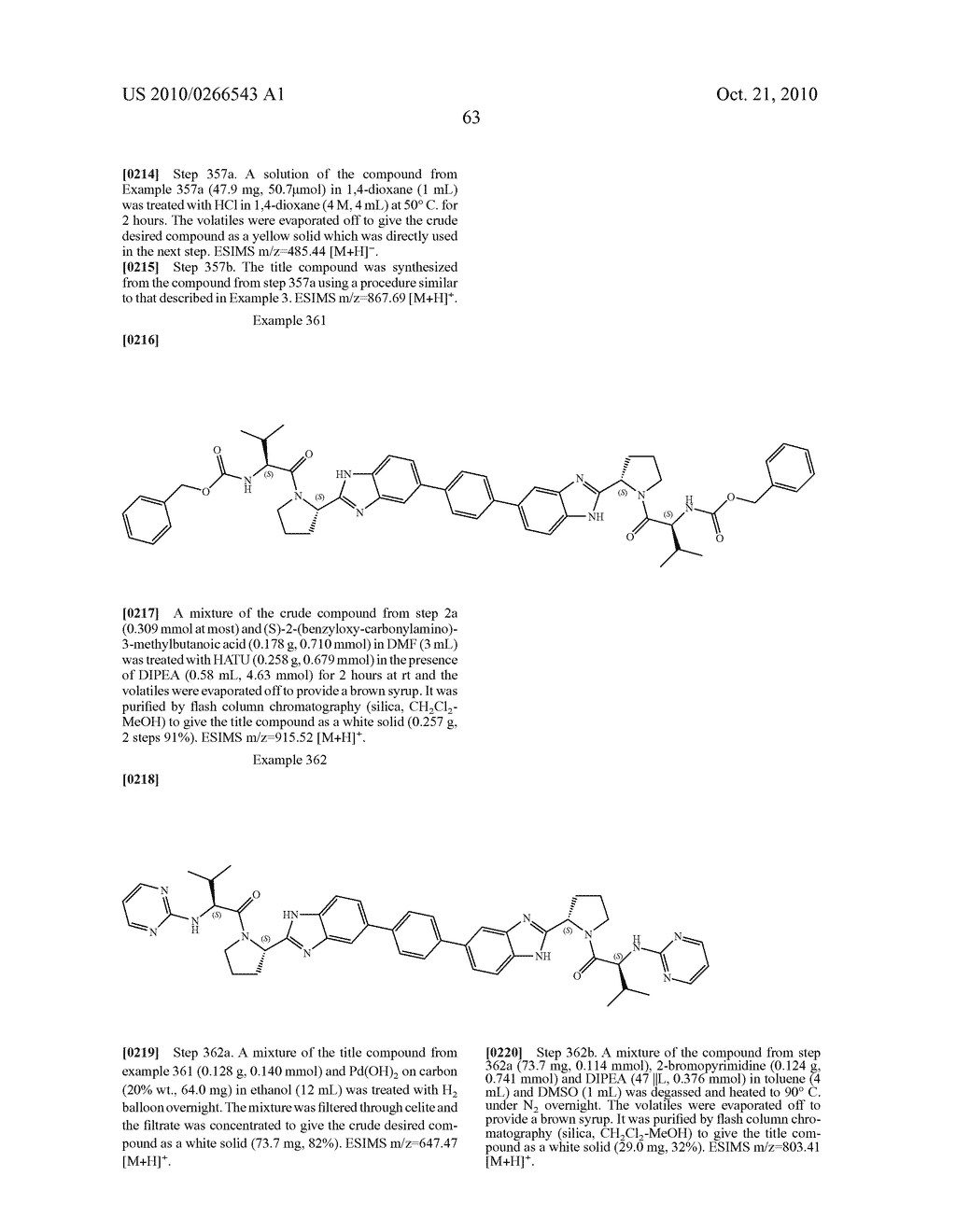 LINKED DIBENZIMIDAZOLE ANTIVIRALS - diagram, schematic, and image 64