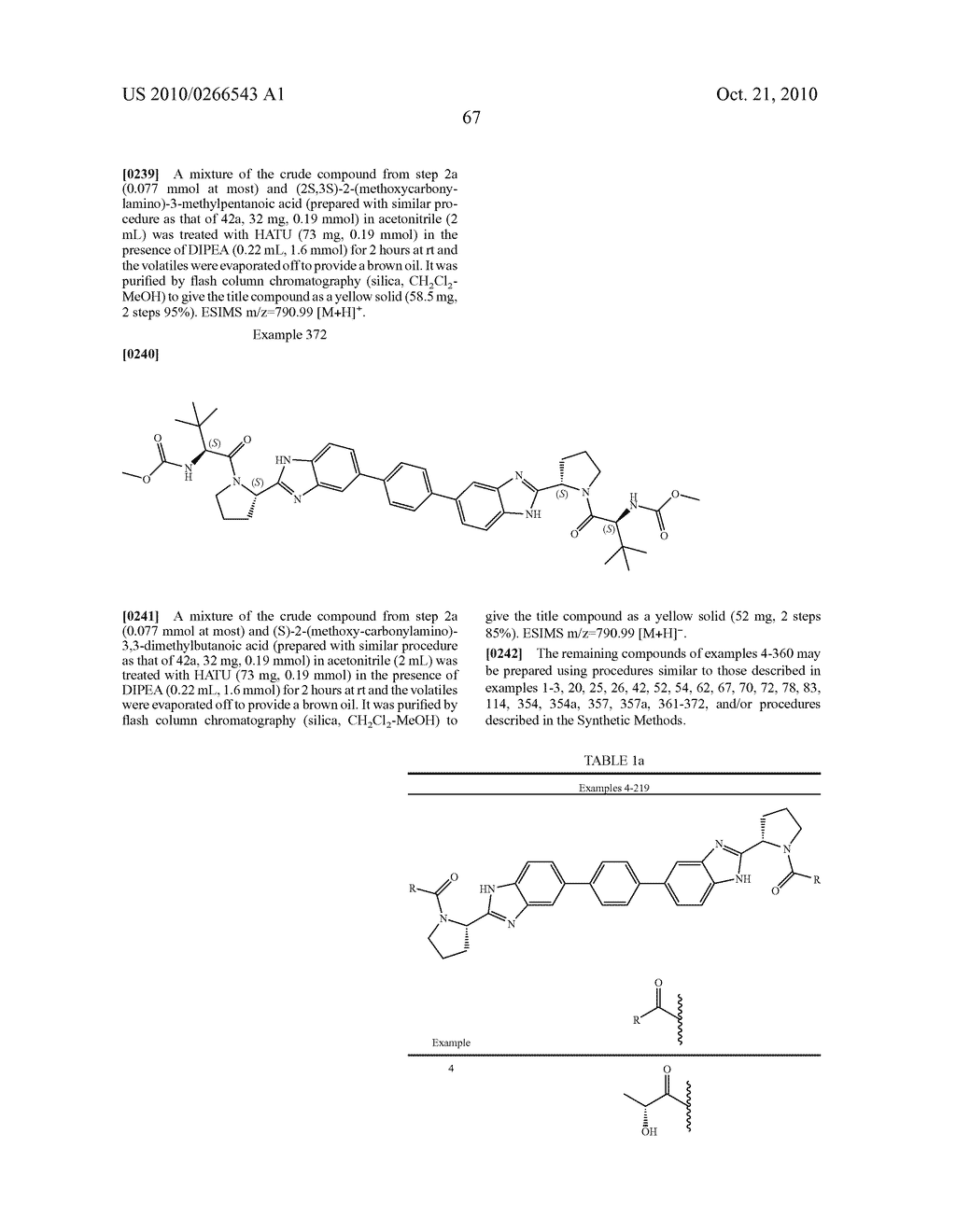 LINKED DIBENZIMIDAZOLE ANTIVIRALS - diagram, schematic, and image 68