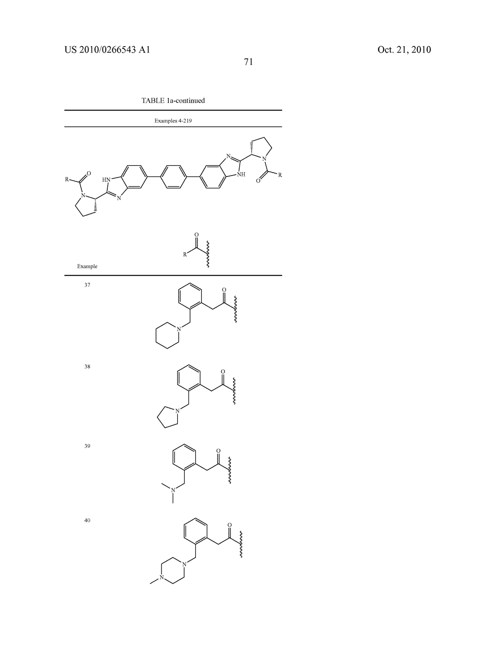 LINKED DIBENZIMIDAZOLE ANTIVIRALS - diagram, schematic, and image 74