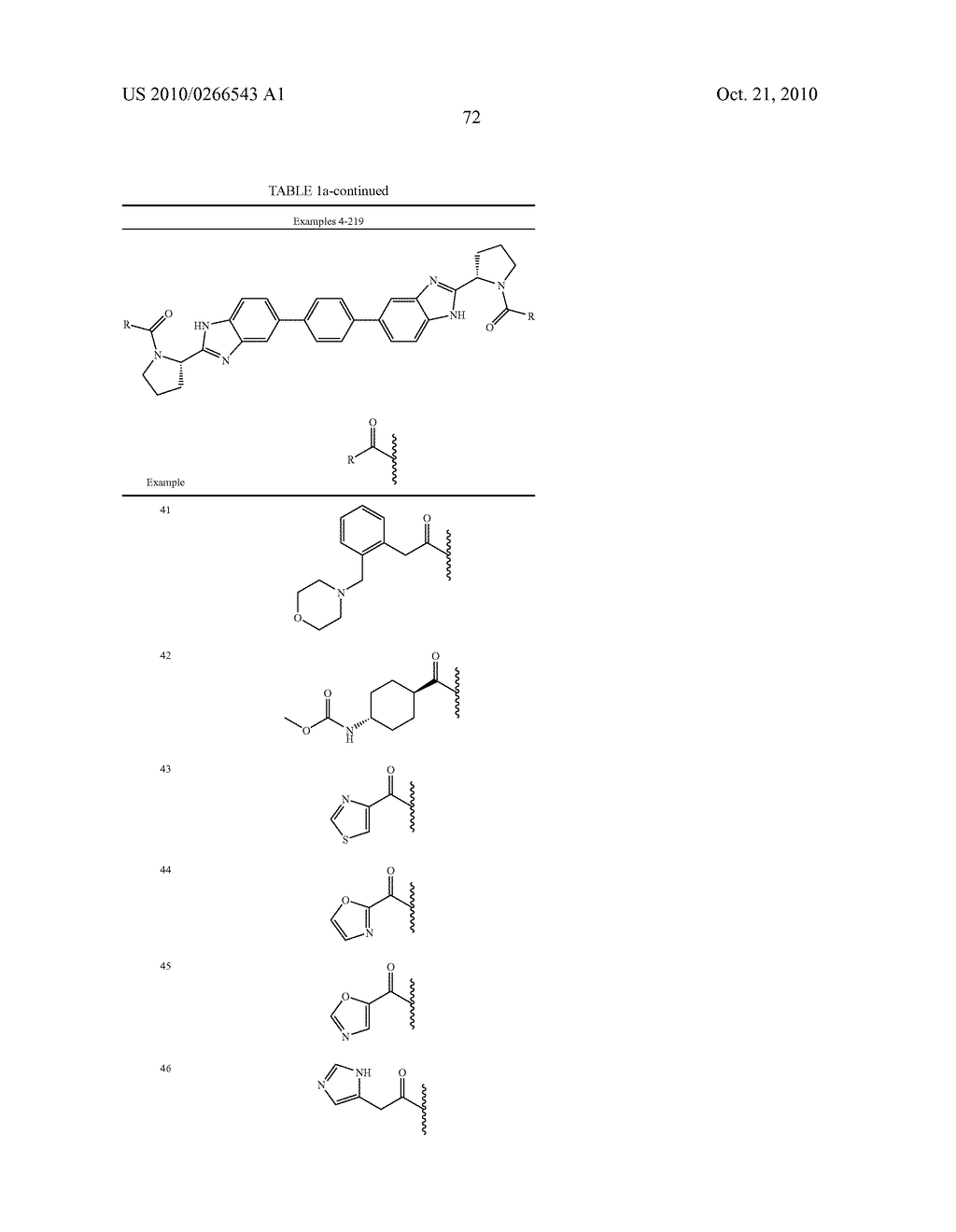 LINKED DIBENZIMIDAZOLE ANTIVIRALS - diagram, schematic, and image 75