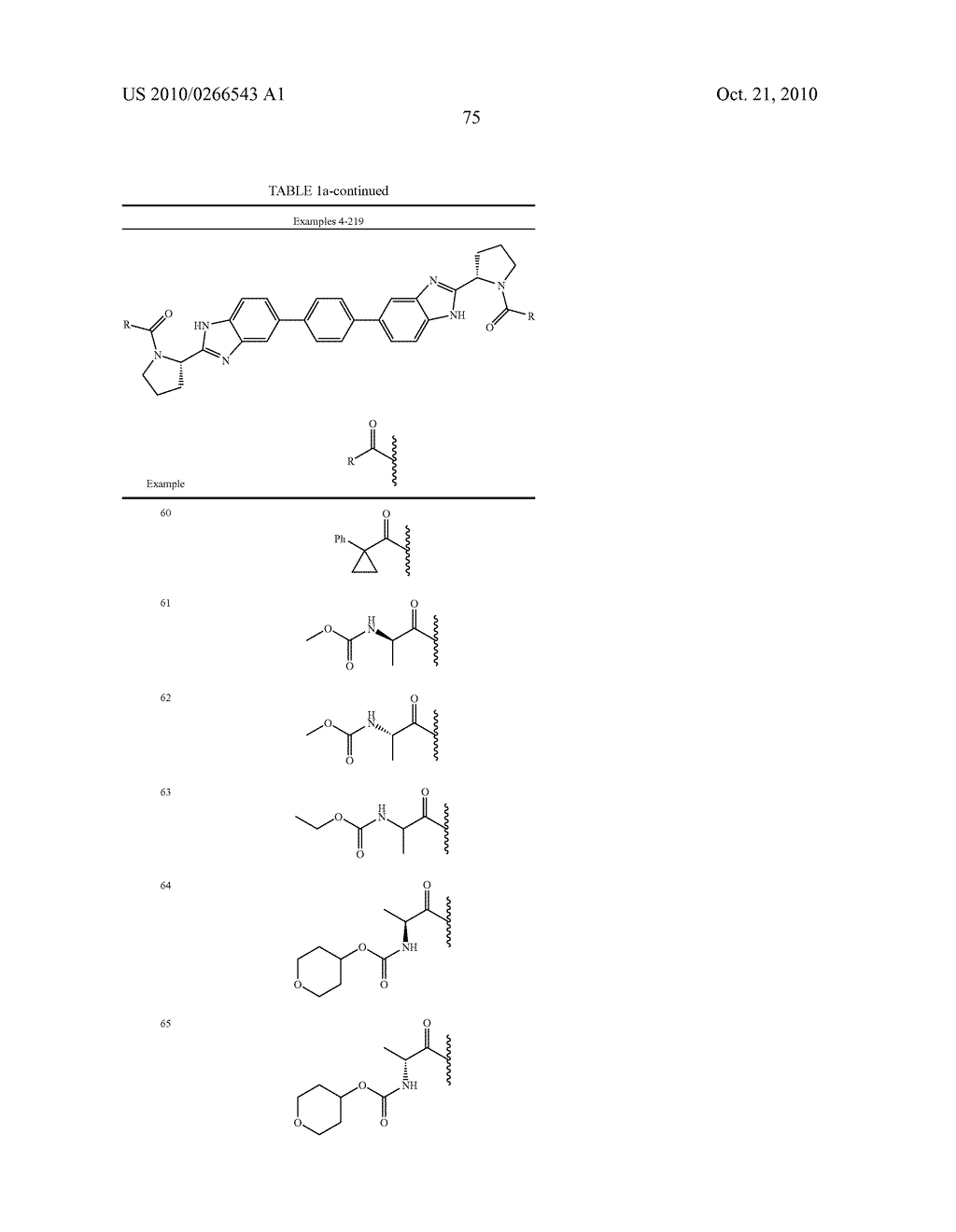 LINKED DIBENZIMIDAZOLE ANTIVIRALS - diagram, schematic, and image 78