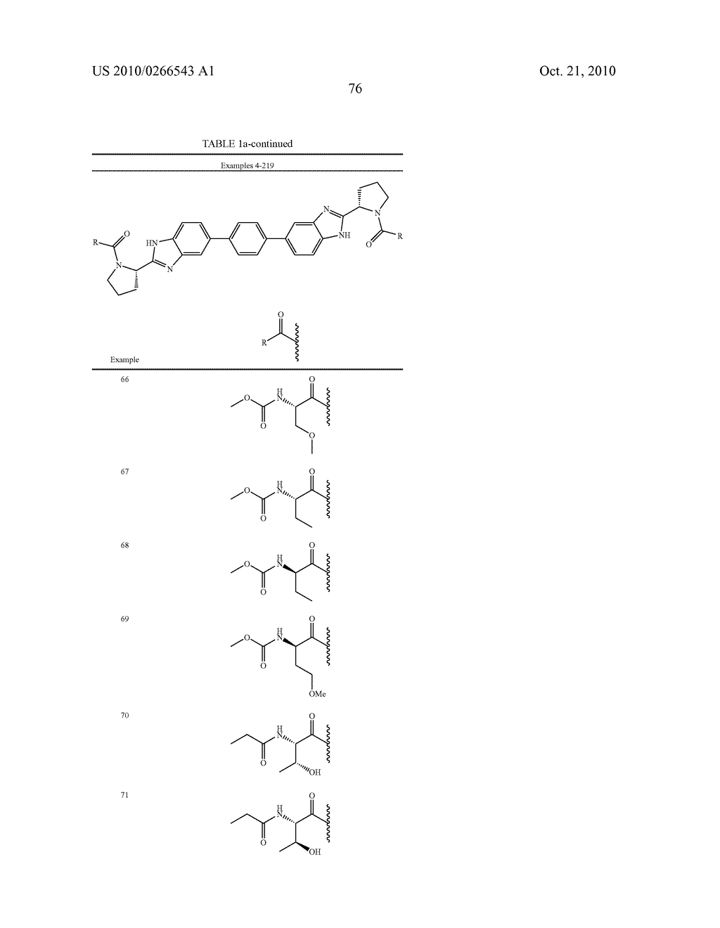 LINKED DIBENZIMIDAZOLE ANTIVIRALS - diagram, schematic, and image 79