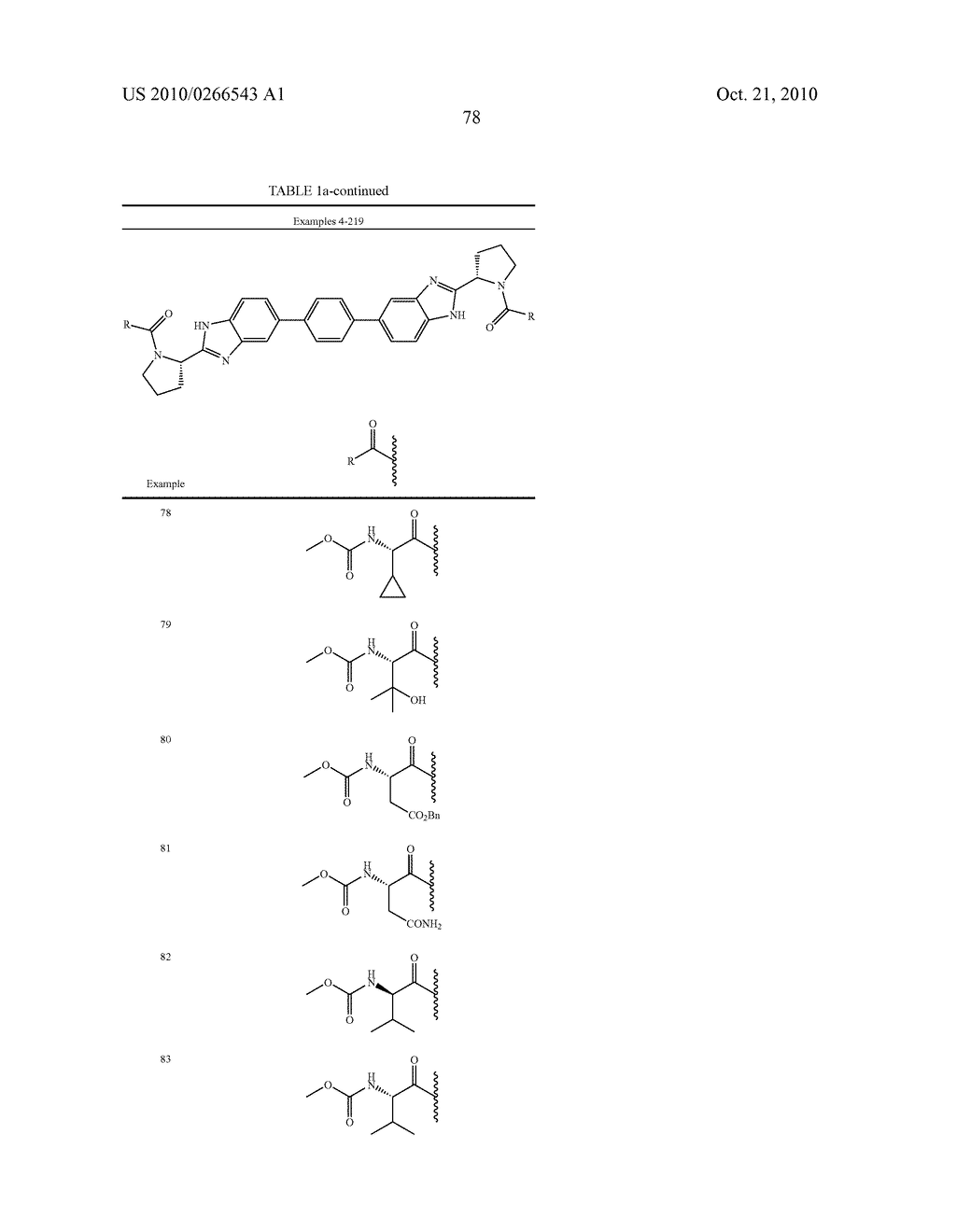 LINKED DIBENZIMIDAZOLE ANTIVIRALS - diagram, schematic, and image 81