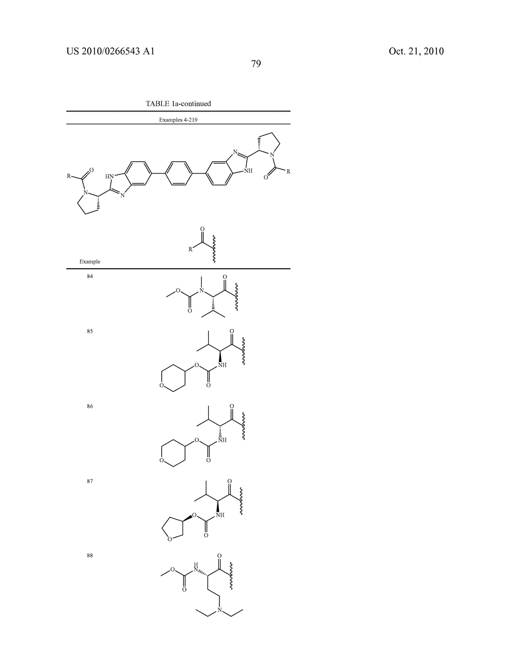 LINKED DIBENZIMIDAZOLE ANTIVIRALS - diagram, schematic, and image 82
