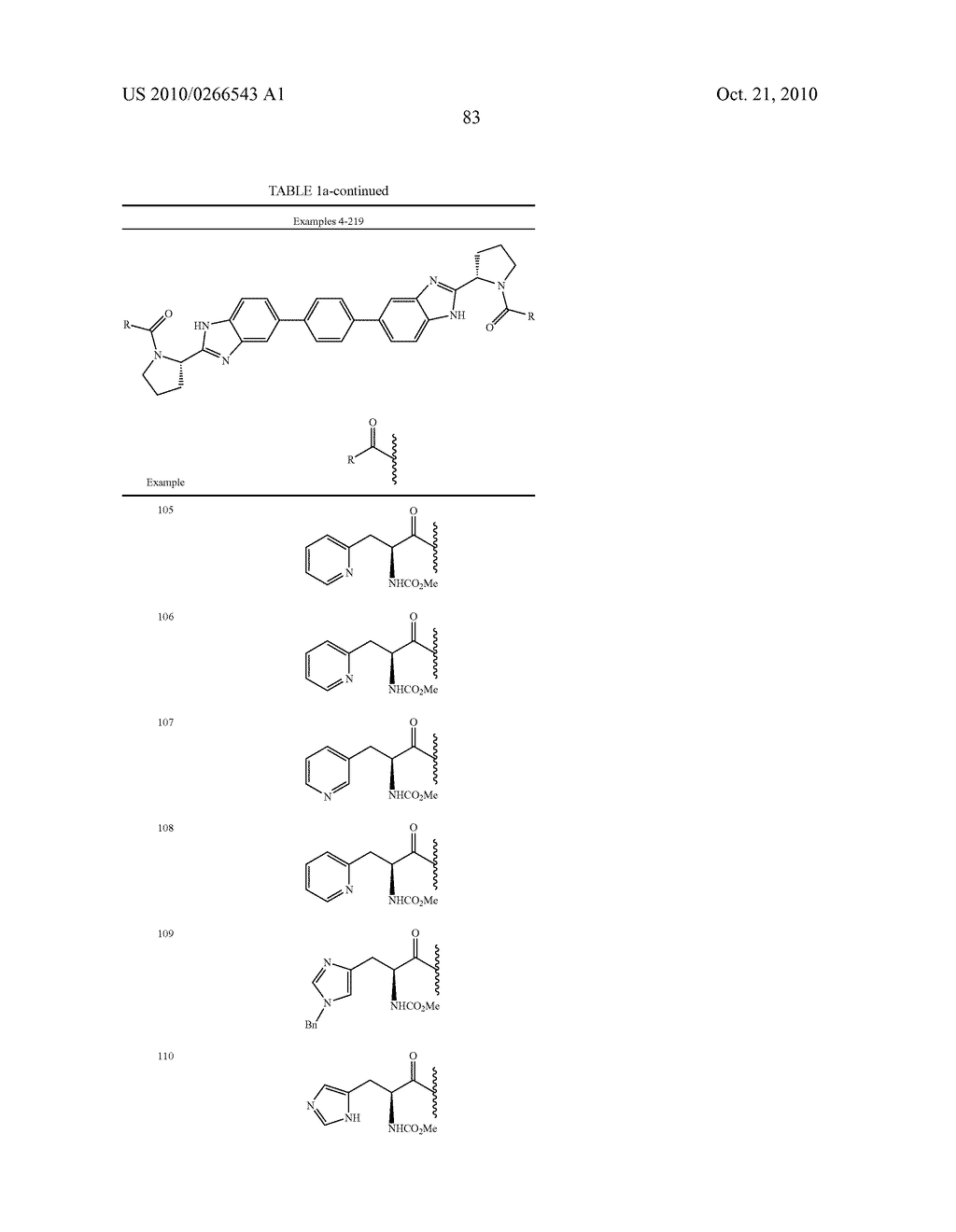 LINKED DIBENZIMIDAZOLE ANTIVIRALS - diagram, schematic, and image 86
