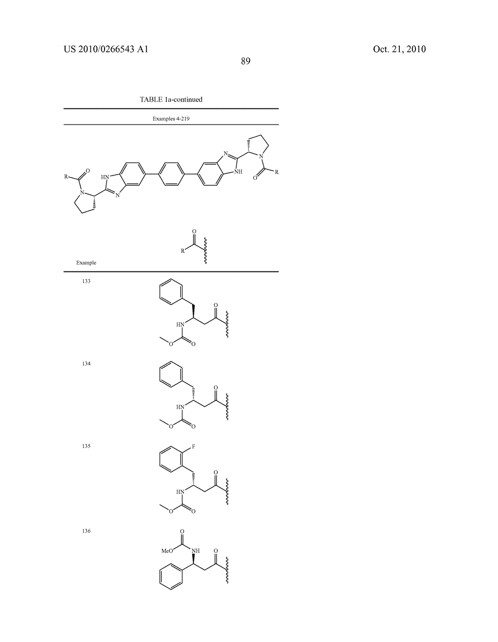 LINKED DIBENZIMIDAZOLE ANTIVIRALS - diagram, schematic, and image 92