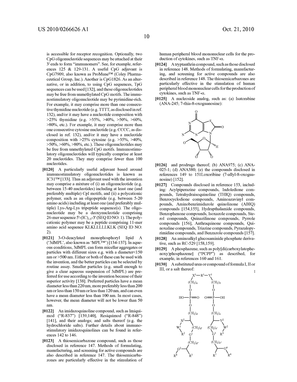 ADJUVANTED GLUCANS - diagram, schematic, and image 29