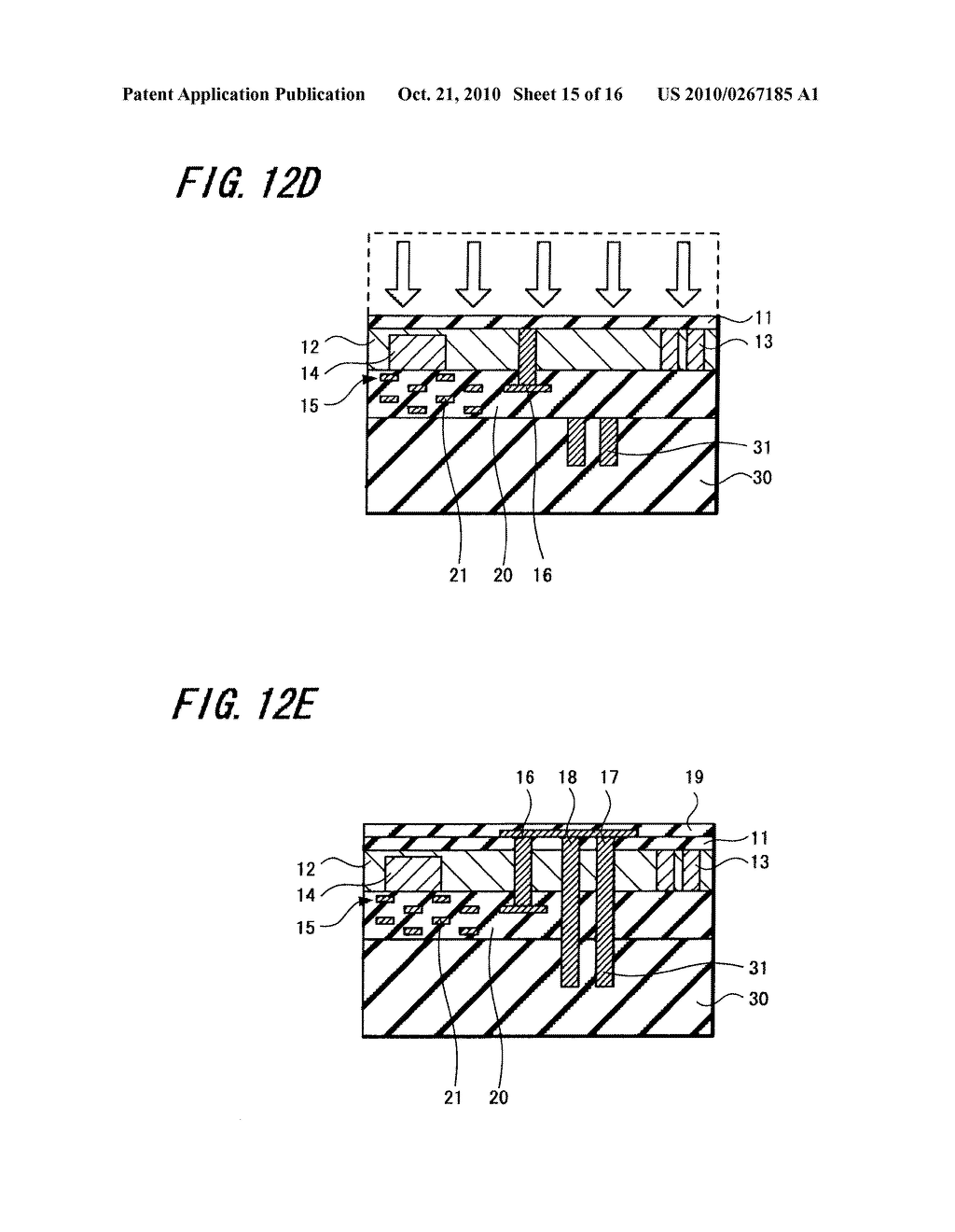 SOLID-STATE IMAGE PICKUP DEVICE, ELECTRONIC APPARATUS USING SUCH SOLID-STATE IMAGE PICKUP DEVICE AND METHOD OF MANUFACTURING SOLID-STATE IMAGE PICKUP DEVICE - diagram, schematic, and image 16
