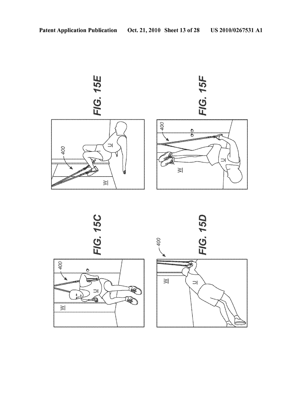 COMBINATION GRIP FOR AN EXERCISE DEVICE - diagram, schematic, and image 14