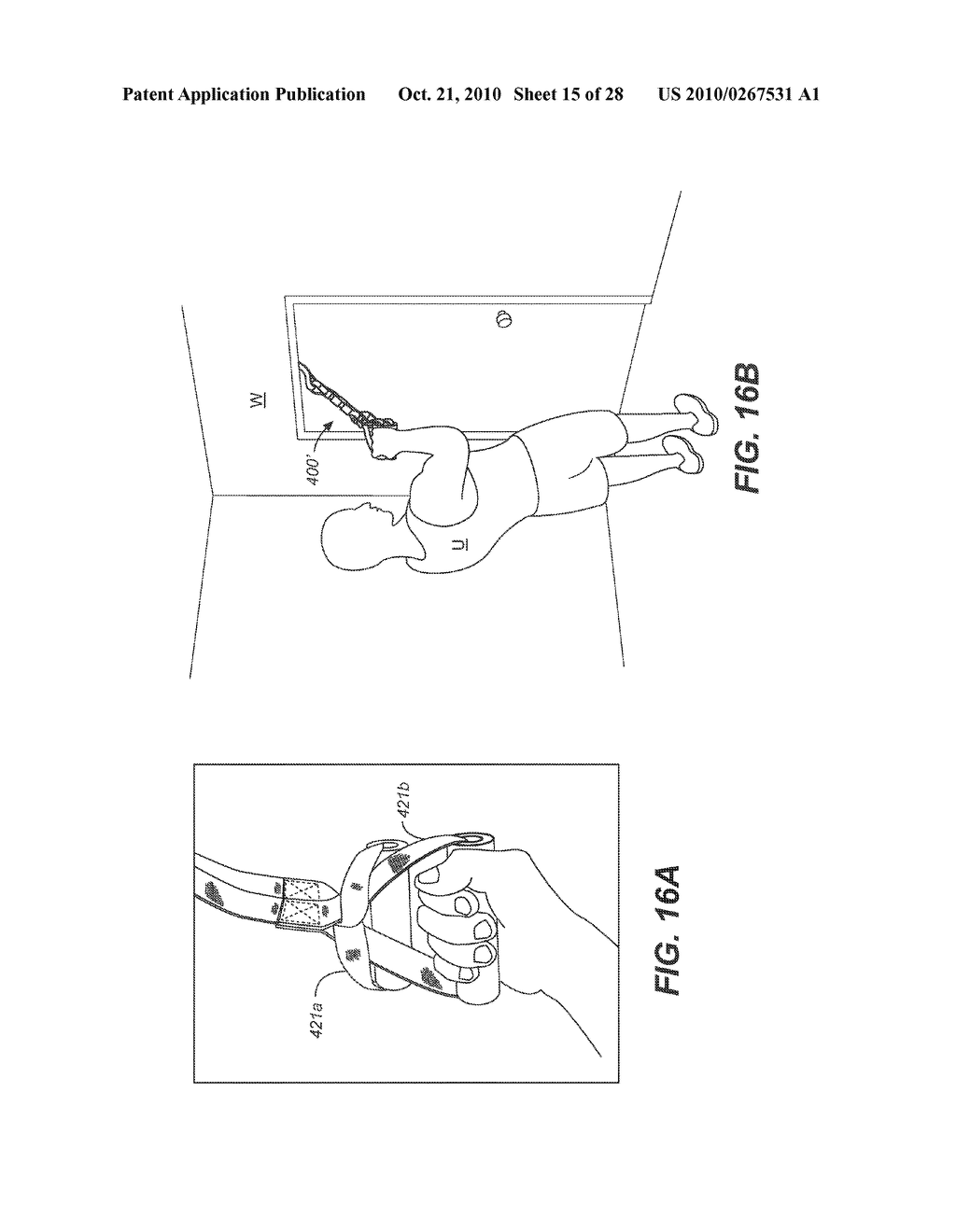 COMBINATION GRIP FOR AN EXERCISE DEVICE - diagram, schematic, and image 16