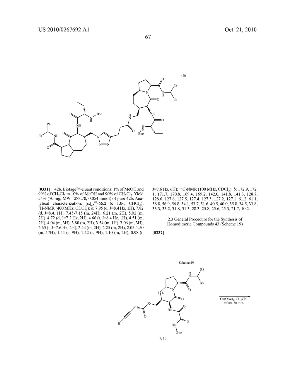SMAC MIMETIC COMPOUNDS AS APOPTOSIS INDUCERS - diagram, schematic, and image 68
