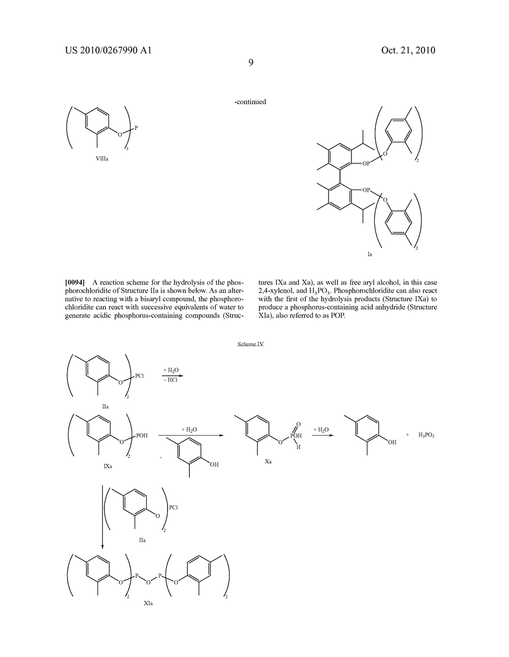 HIGHLY SELECTIVE PROCESS FOR PRODUCING ORGANODIPHOSPHITES - diagram, schematic, and image 10