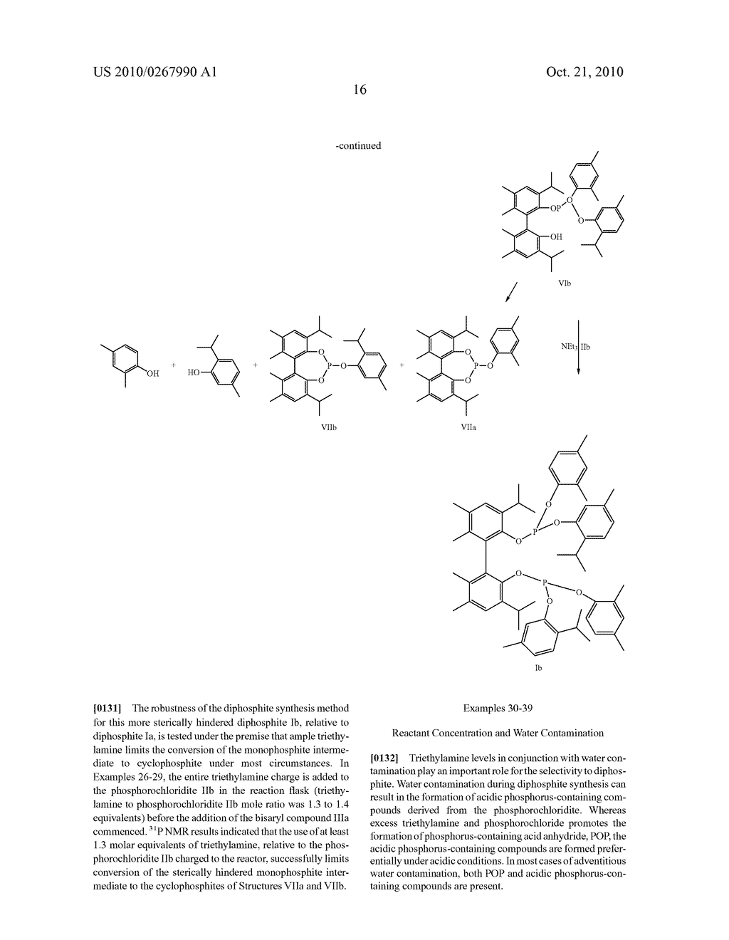 HIGHLY SELECTIVE PROCESS FOR PRODUCING ORGANODIPHOSPHITES - diagram, schematic, and image 17
