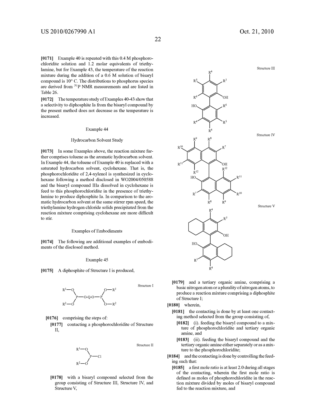 HIGHLY SELECTIVE PROCESS FOR PRODUCING ORGANODIPHOSPHITES - diagram, schematic, and image 23
