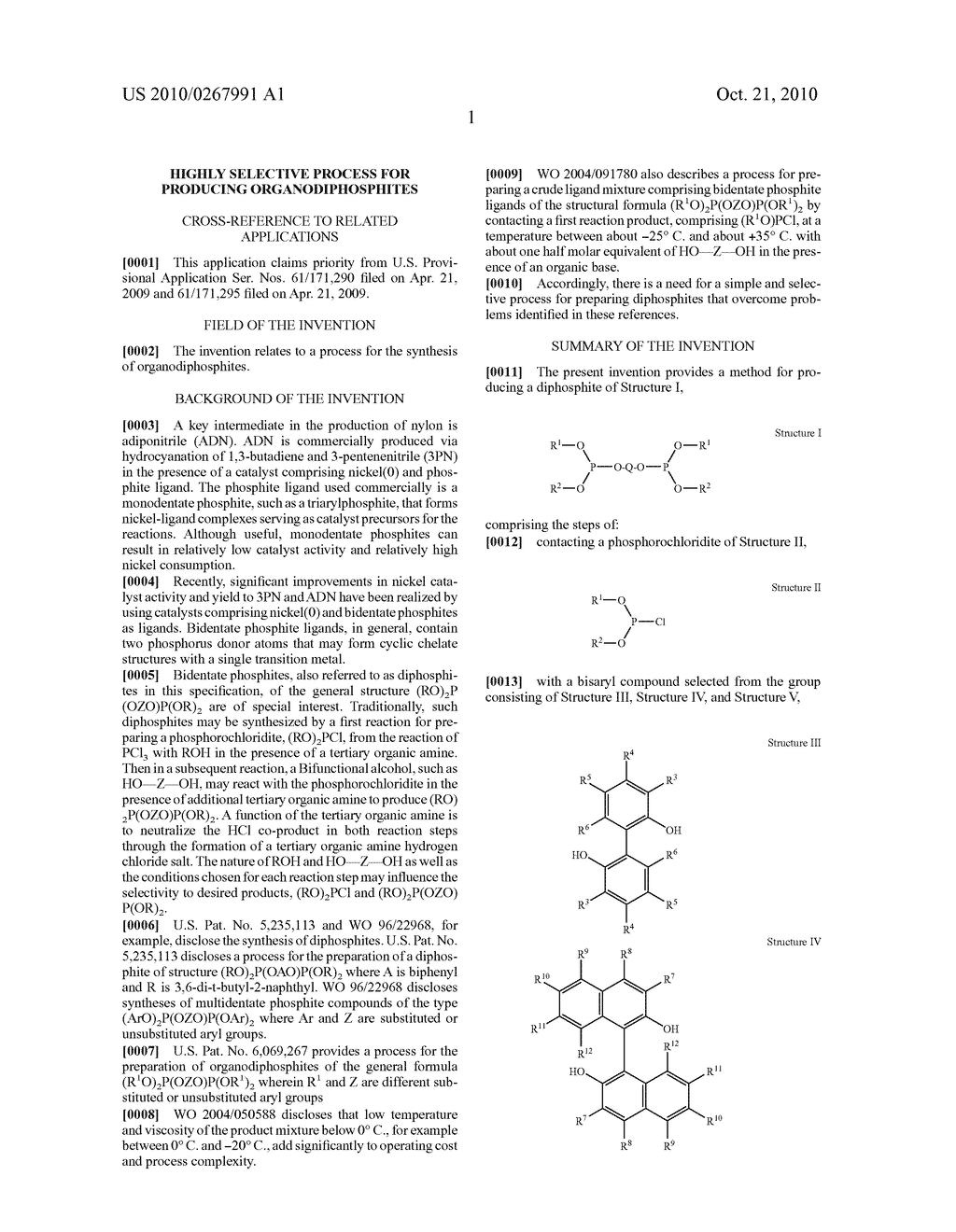 HIGHLY SELECTIVE PROCESS FOR PRODUCING ORGANODIPHOSPHITES - diagram, schematic, and image 02