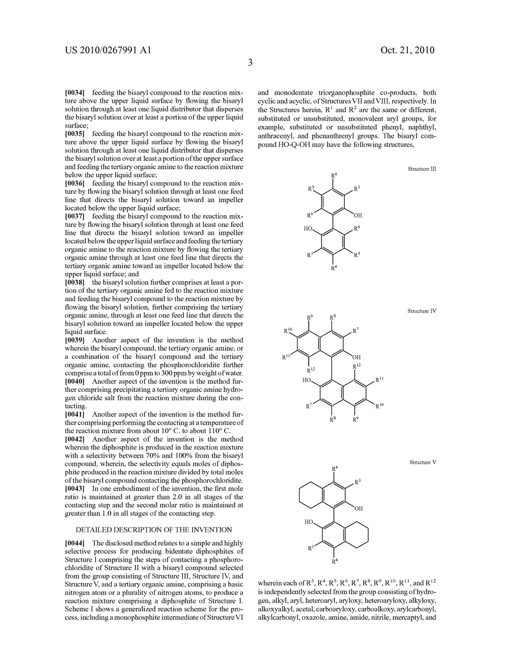 HIGHLY SELECTIVE PROCESS FOR PRODUCING ORGANODIPHOSPHITES - diagram, schematic, and image 04