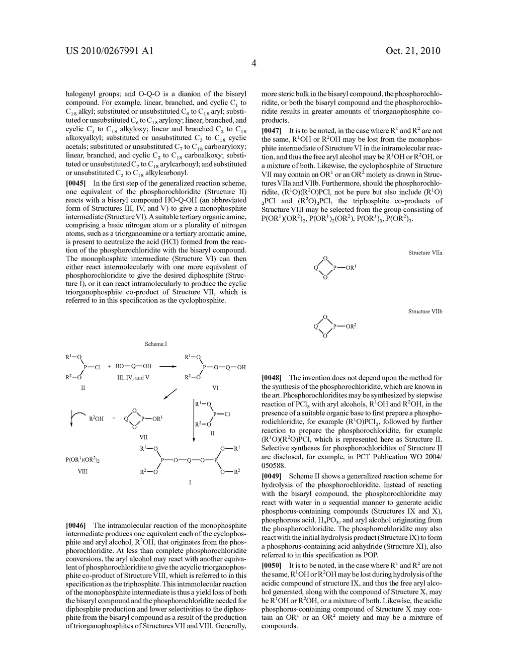 HIGHLY SELECTIVE PROCESS FOR PRODUCING ORGANODIPHOSPHITES - diagram, schematic, and image 05