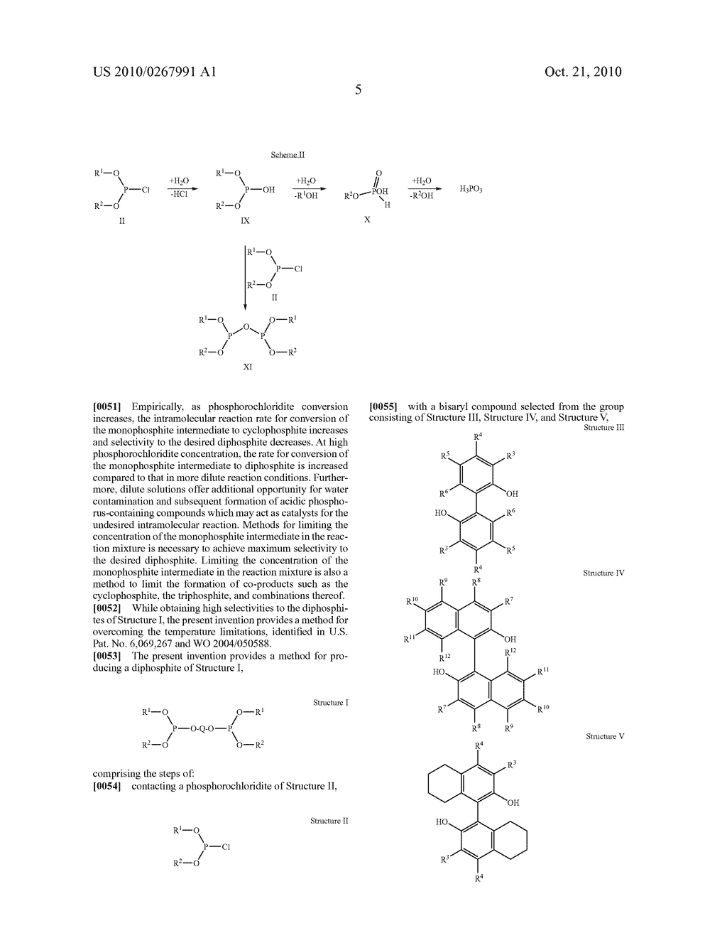 HIGHLY SELECTIVE PROCESS FOR PRODUCING ORGANODIPHOSPHITES - diagram, schematic, and image 06