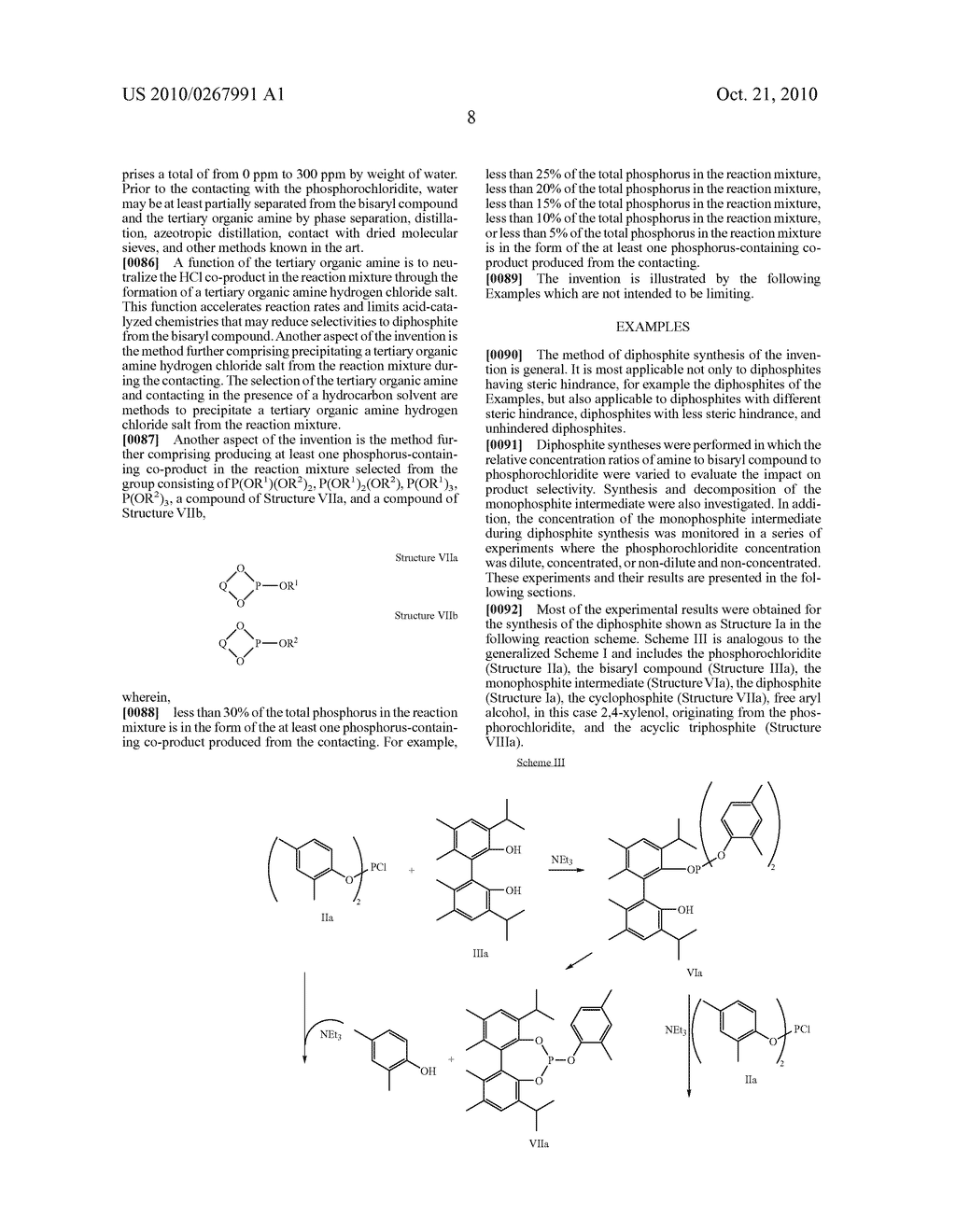 HIGHLY SELECTIVE PROCESS FOR PRODUCING ORGANODIPHOSPHITES - diagram, schematic, and image 09