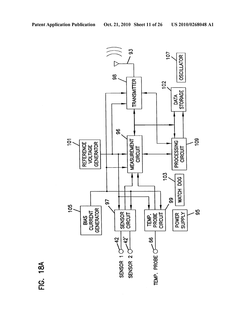 Analyte Monitoring Device and Methods of Use - diagram, schematic, and image 12