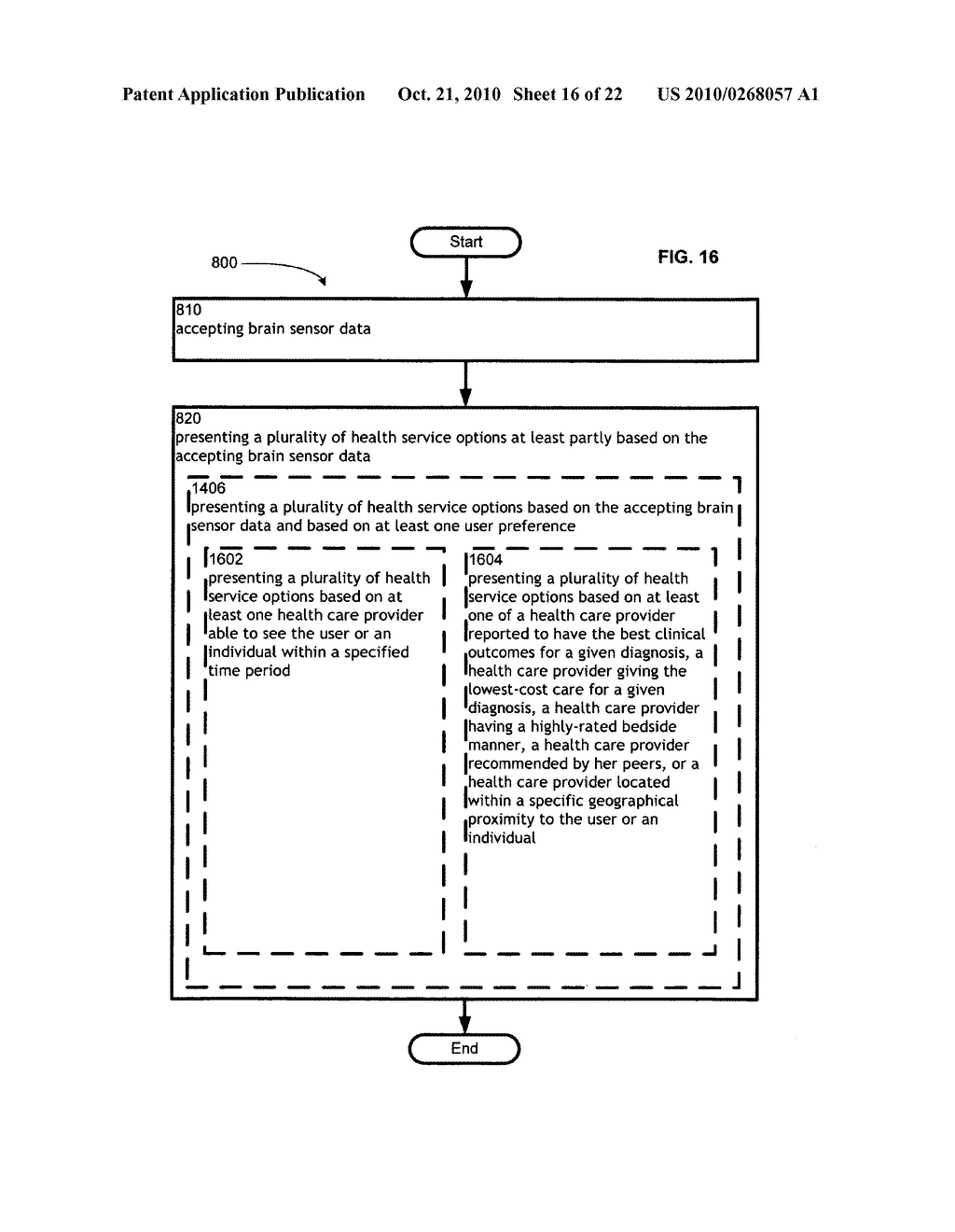 Computational systems and methods for health services planning and matching - diagram, schematic, and image 17