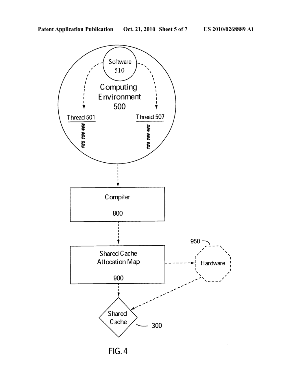 COMPILER BASED CACHE ALLOCATION - diagram, schematic, and image 06