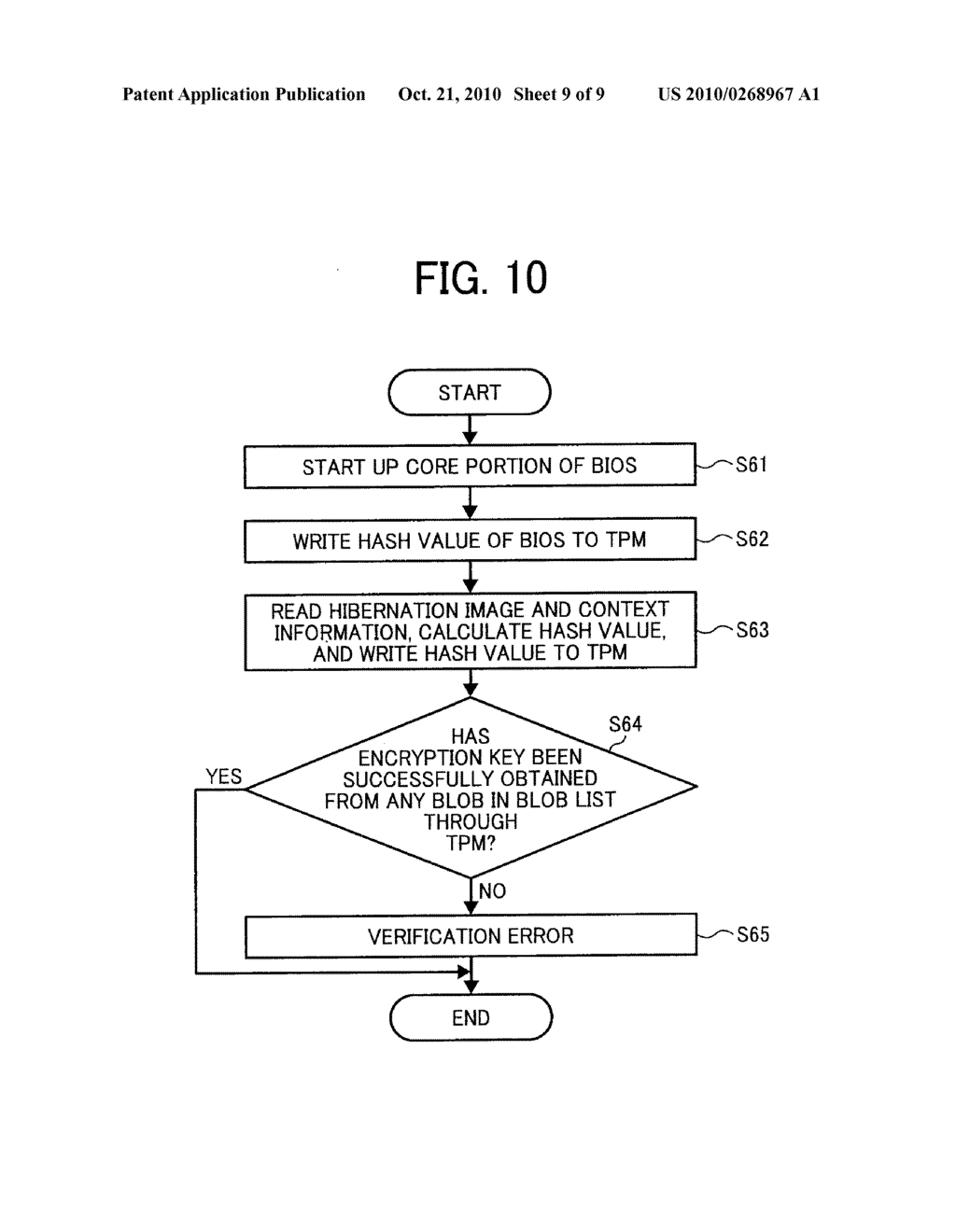 INFORMATION PROCESSING APPARATUS, AND METHOD AND COMPUTER PROGRAM PRODUCT FOR VERIFICATION - diagram, schematic, and image 10