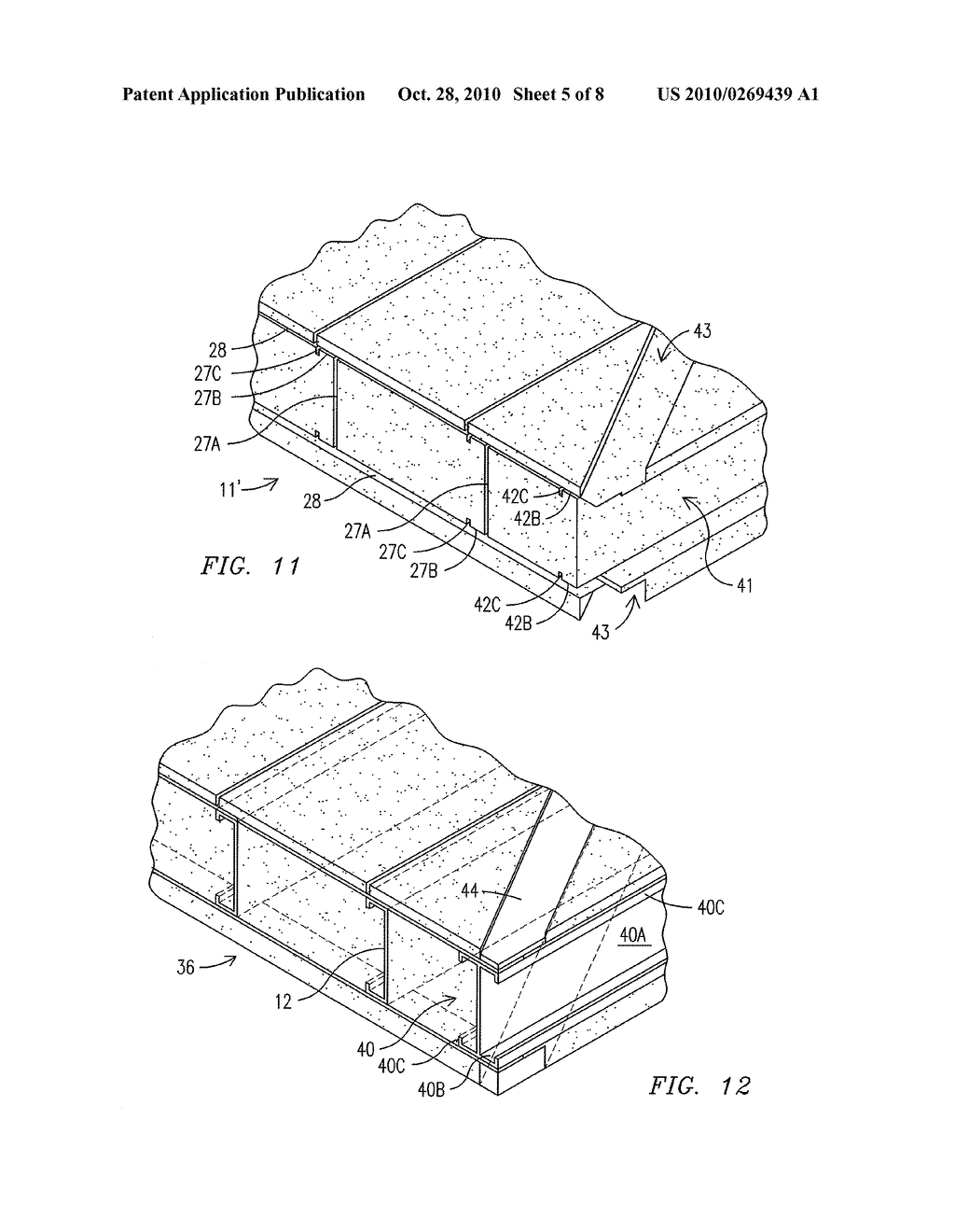 INSULATED PANEL AND SYSTEM FOR CONSTRUCTION OF A MODULAR BUILDING AND METHOD OF FABRICATION THEREOF - diagram, schematic, and image 06
