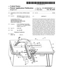 UNIVERSAL FENCE FOR A POWER TABLE SAW diagram and image