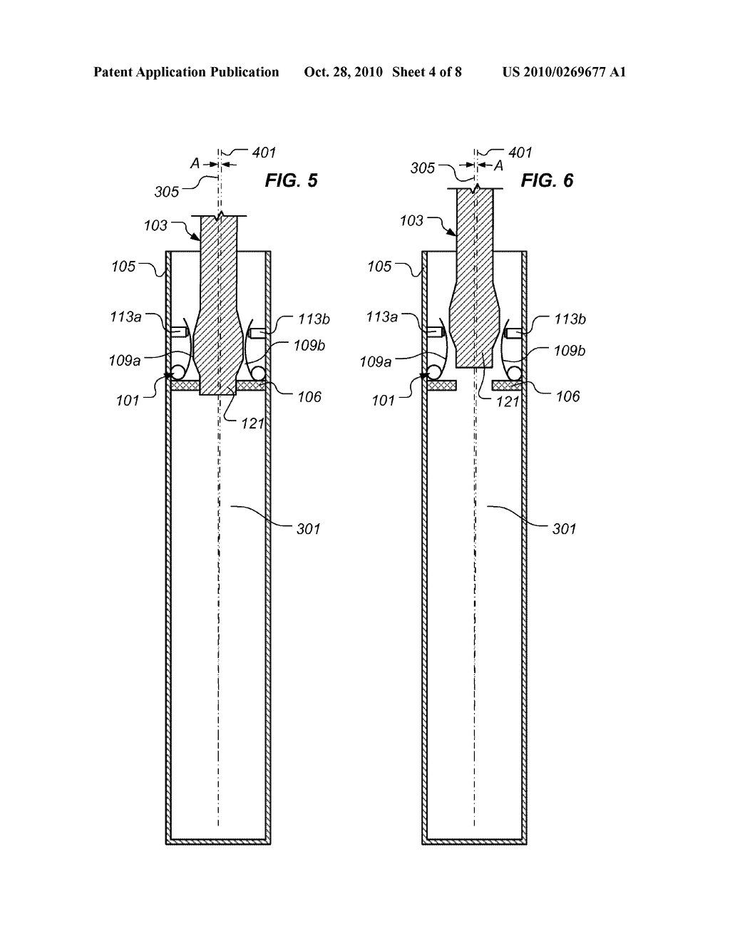 Apparatus and Method for Selectively Affecting a Launch Trajectory of a Projectile - diagram, schematic, and image 05