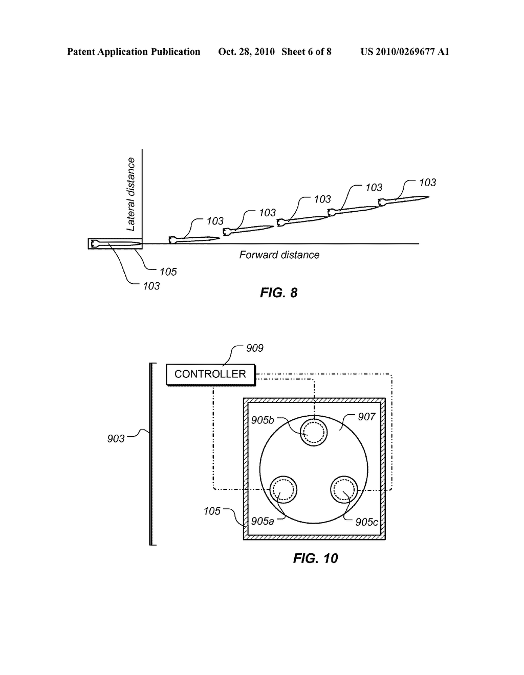 Apparatus and Method for Selectively Affecting a Launch Trajectory of a Projectile - diagram, schematic, and image 07