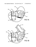 Concealable Handgun Holster with Deceptive Attachment Clip diagram and image