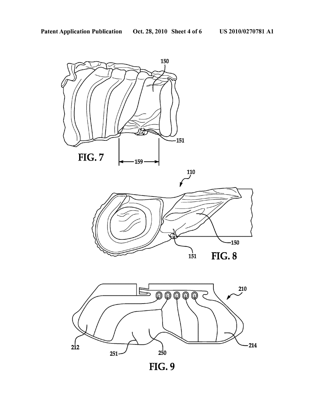 SIDE AIRBAG CUSHION AND METHOD OF MANUFACTURE - diagram, schematic, and image 05