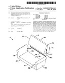 SYSTEM AND METHOD FOR COMPACTLY SHIPPING AND FINALLY ASSEMBLING AN UPHOLSTERED SEAT diagram and image