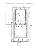 APPARATUS FOR OPENING HOPPER DOOR diagram and image