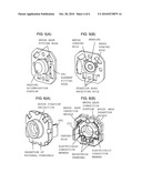 CASE LID ASSEMBLY OF DC MOTOR WITH BRUSH diagram and image