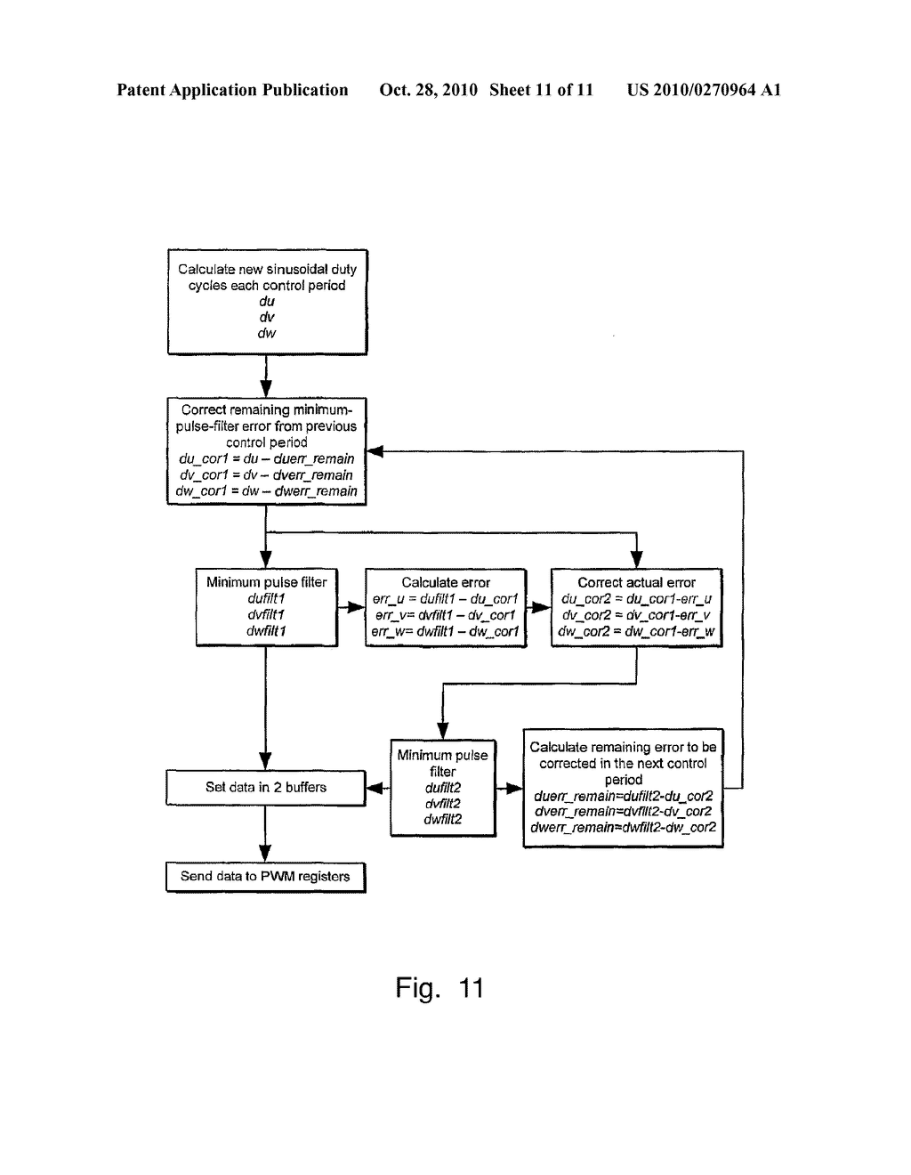 METHOD FOR DRIVING A PULSE WIDTH MODULATED CONTROLLER - diagram, schematic, and image 12