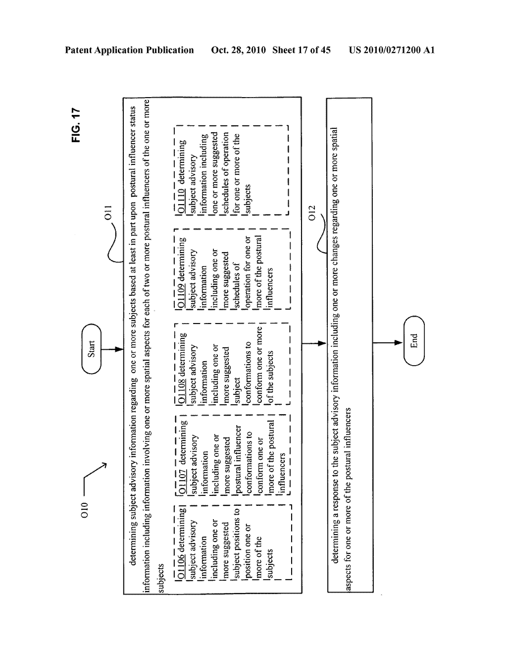 Postural information system and method including determining response to subject advisory information - diagram, schematic, and image 18