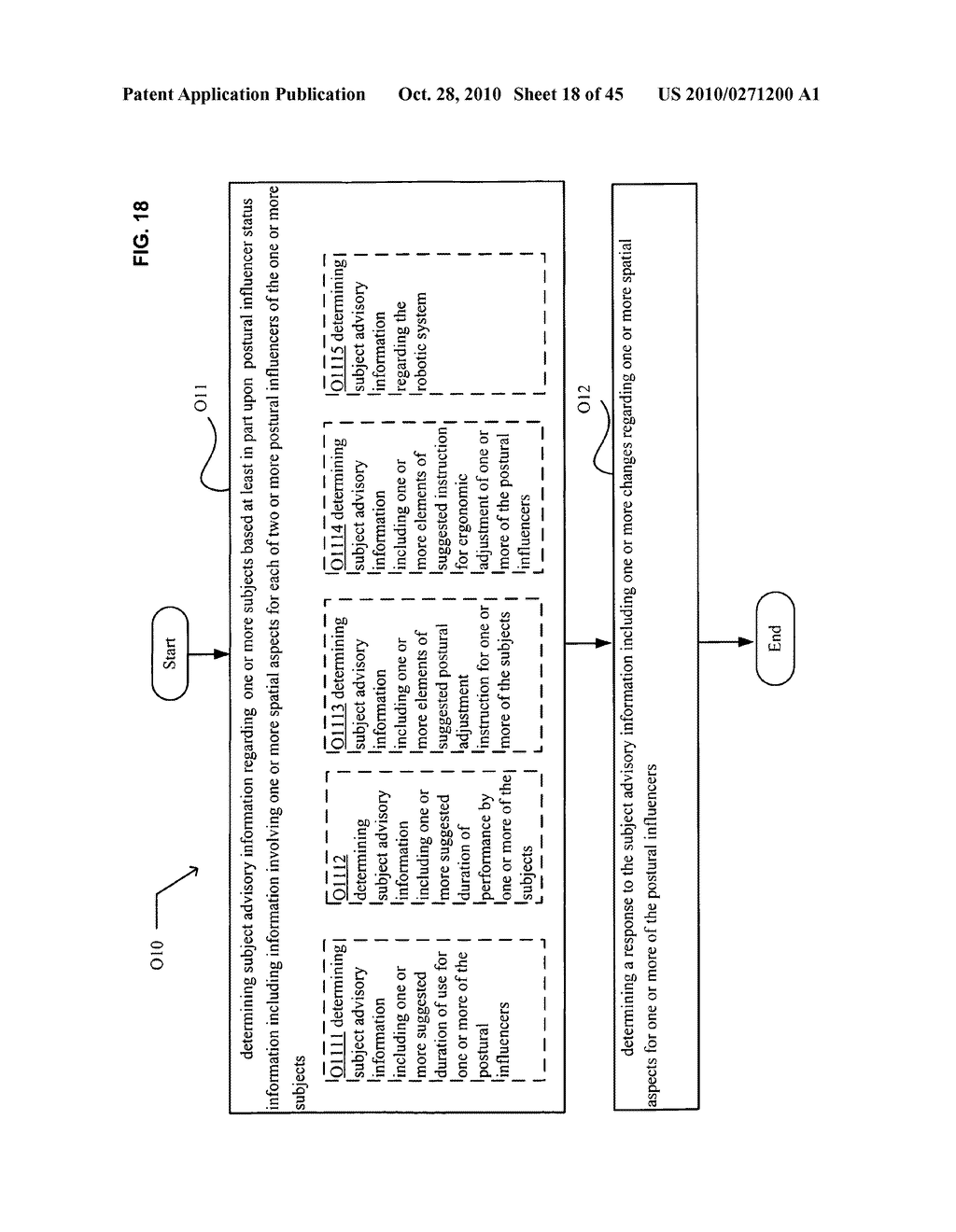 Postural information system and method including determining response to subject advisory information - diagram, schematic, and image 19