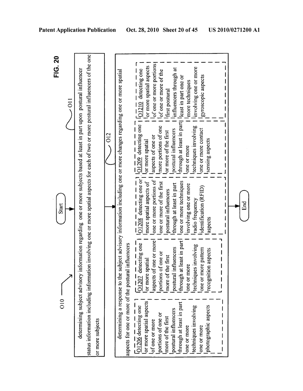 Postural information system and method including determining response to subject advisory information - diagram, schematic, and image 21