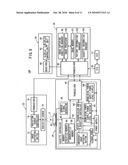 Radiation detecting cassette and radiation image capturing system diagram and image