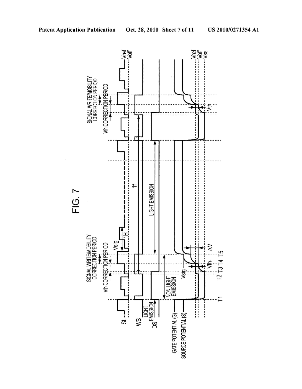 Display apparatus, driving method thereof, and electronic system - diagram, schematic, and image 08