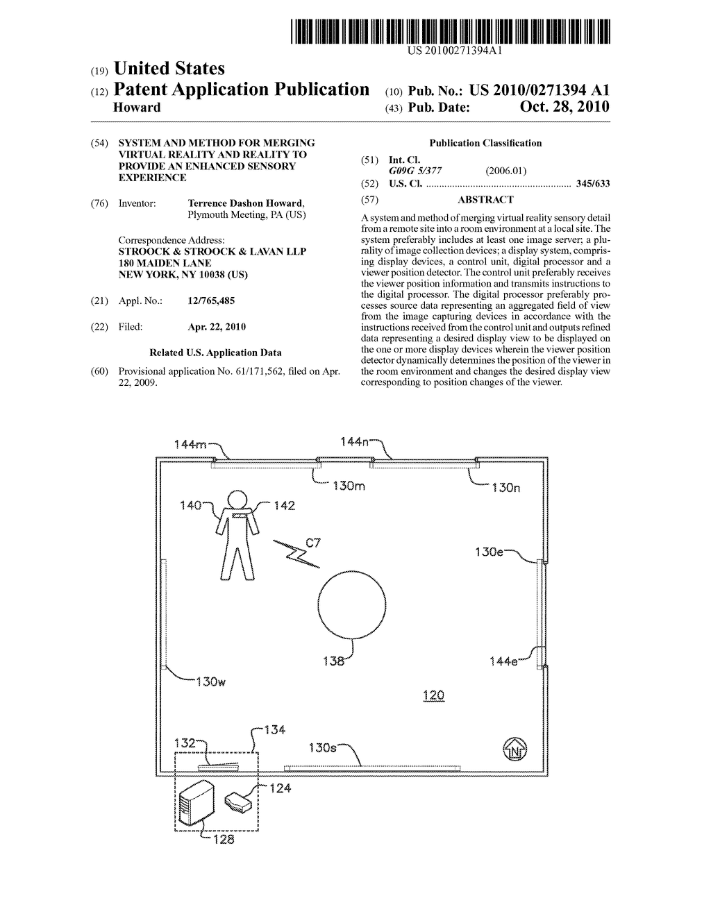 SYSTEM AND METHOD FOR MERGING VIRTUAL REALITY AND REALITY TO PROVIDE AN ENHANCED SENSORY EXPERIENCE - diagram, schematic, and image 01
