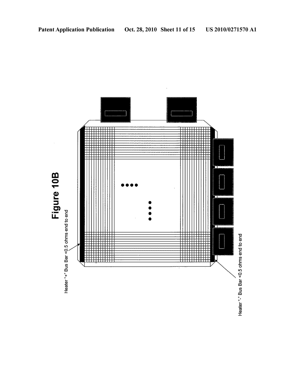 FLAT PANEL DISPLAY HAVING AN EMI SHIELD AND THERMAL SENSORS - diagram, schematic, and image 12