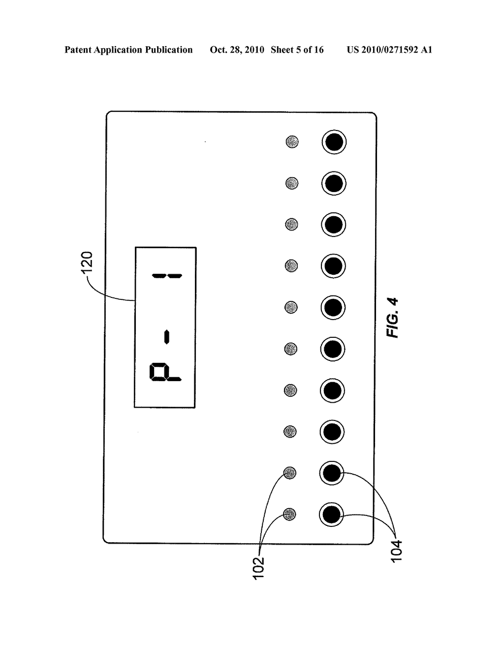 APPARATUS FOR MEASURING CRITICAL FLICKER FUSION FREQUENCY AND METHODS OF USING SAME - diagram, schematic, and image 06