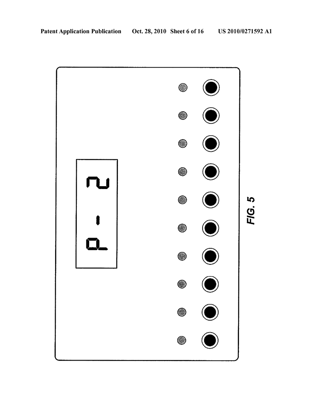 APPARATUS FOR MEASURING CRITICAL FLICKER FUSION FREQUENCY AND METHODS OF USING SAME - diagram, schematic, and image 07