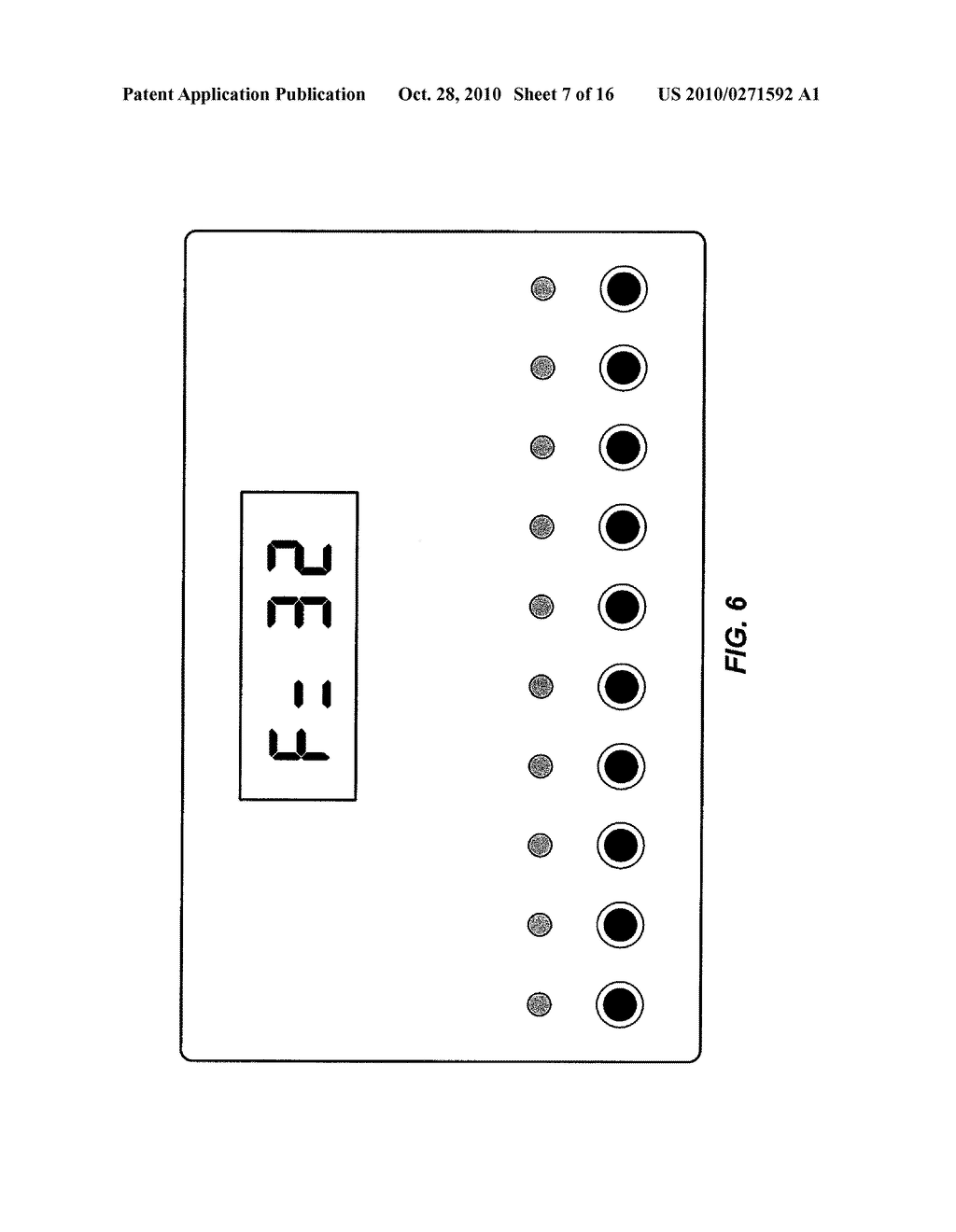 APPARATUS FOR MEASURING CRITICAL FLICKER FUSION FREQUENCY AND METHODS OF USING SAME - diagram, schematic, and image 08