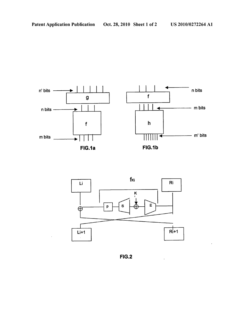 METHOD FOR MAKING SAFE AN ELECTRONIC CRYPTOGRAPHY ASSEMBLY WITH A SECRET KEY - diagram, schematic, and image 02