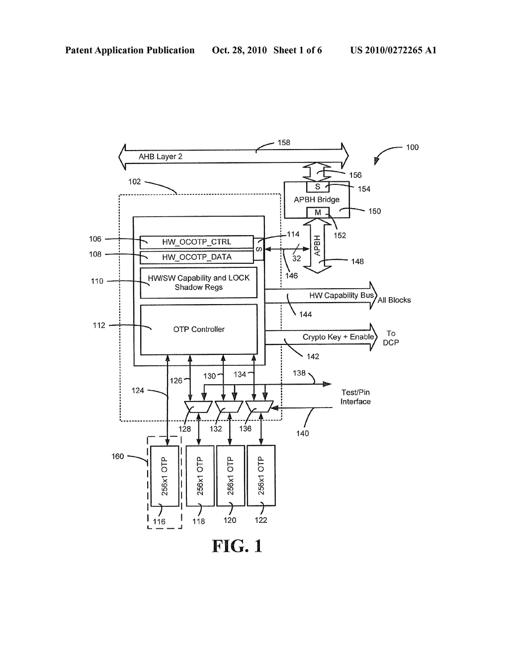 SYSTEM AND METHOD TO CONTROL ONE TIME PROGRAMMABLE MEMORY - diagram, schematic, and image 02