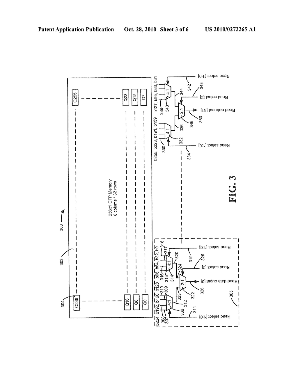 SYSTEM AND METHOD TO CONTROL ONE TIME PROGRAMMABLE MEMORY - diagram, schematic, and image 04